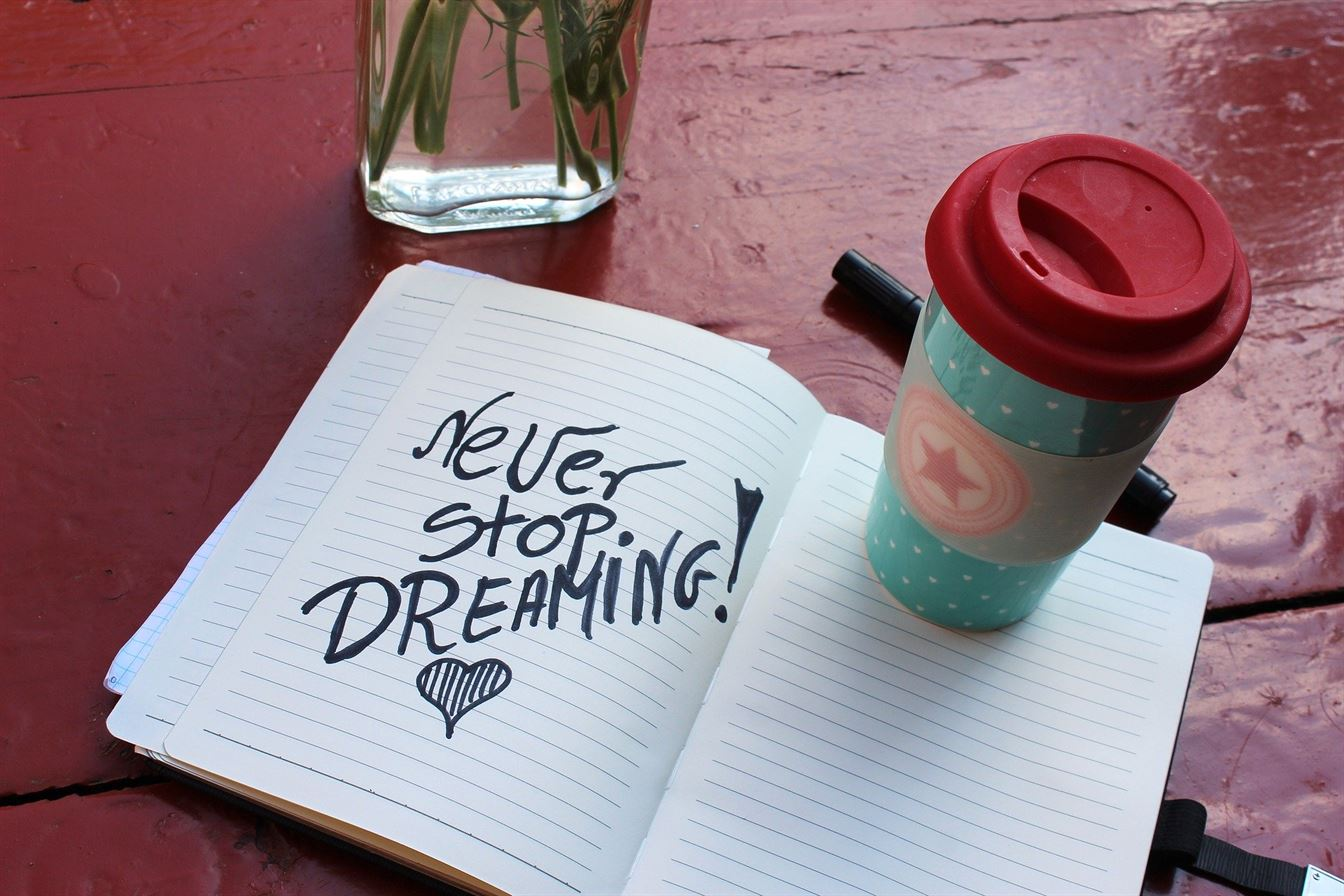 Nunca pares de soñar
