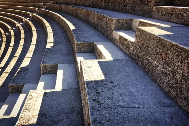 Séneca. Coliseo romano