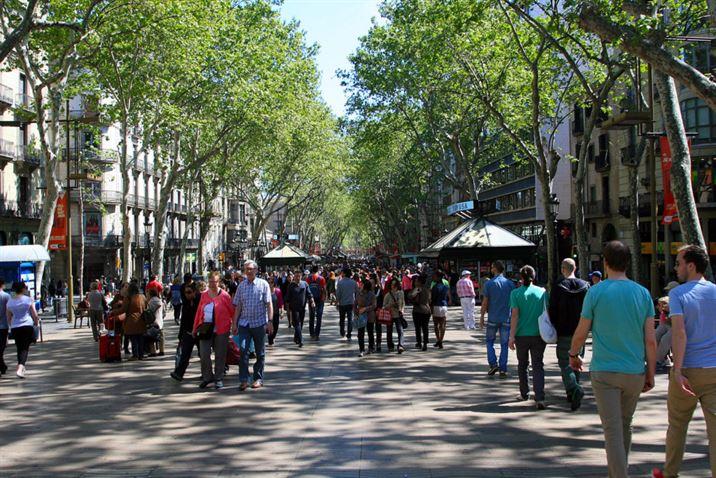 Barcelona es mucho más. Rambla