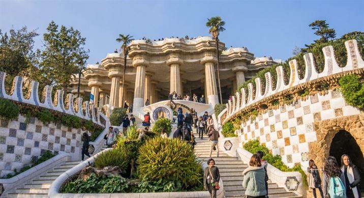Parque Güell, Barcelona (Gaudí)