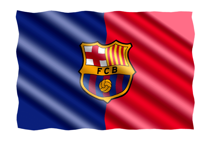 Bandera del Barcelona F.C.