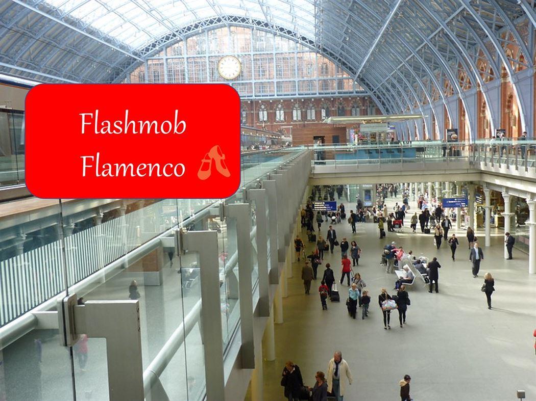 Flashmob flamenco en Londres