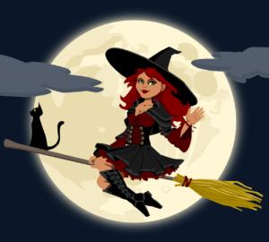 witch-Imagen de OpenClipart-Vectors en Pixabay